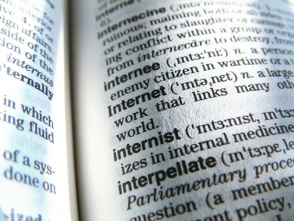 Dicionário lingua inglesa