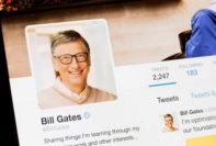 Perfil de Bill Gates no Twitter