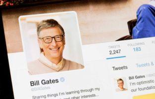 Perfil de Bill Gates no Twitter