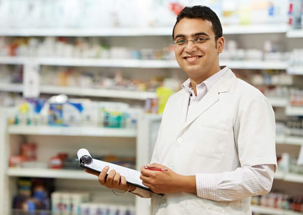 farmacêutico no trabalho