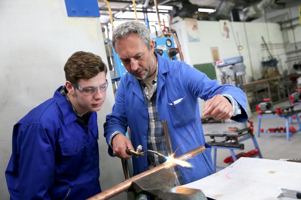 aprendiz de metalurgia