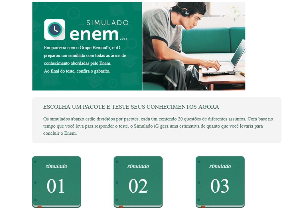 site simulado enem