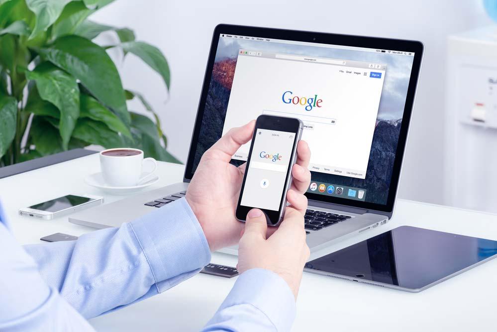 Usando o Google