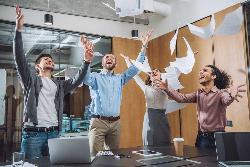 Conceito de felicidade e satisfação no trabalho
