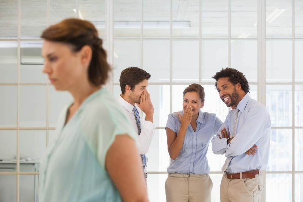 Assédio moral com colegas
