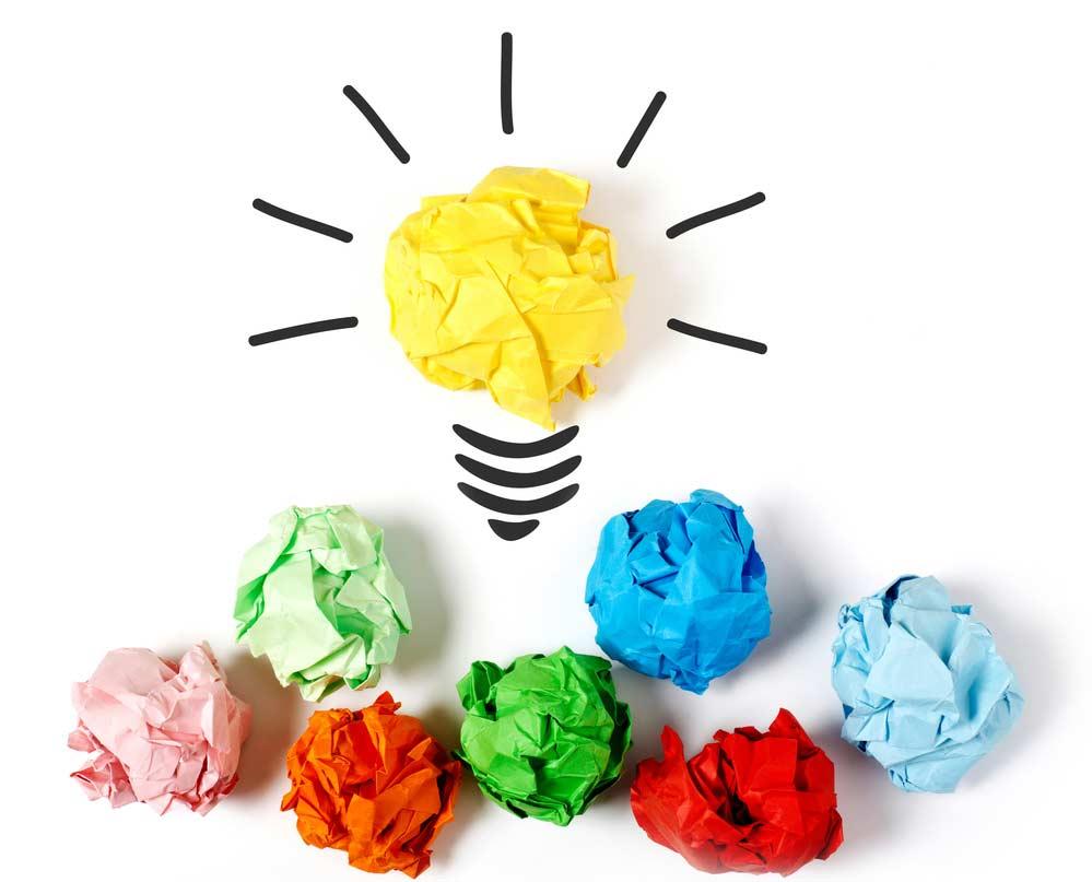 Conceito de brainstorming / ideia