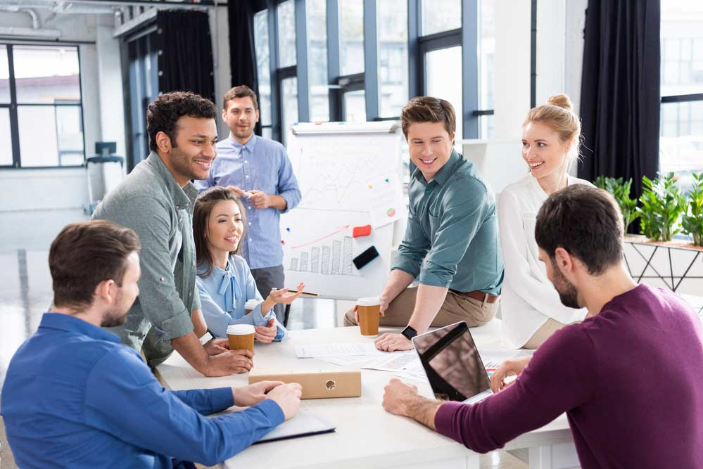Brainstorming com a equipe