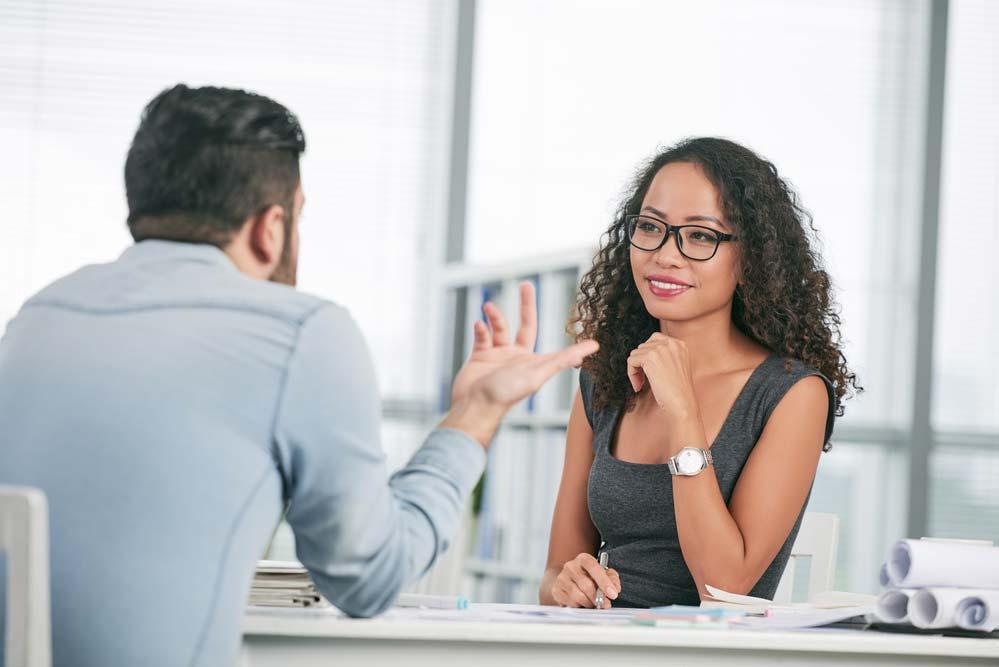 Apresentação para entrevista de emprego