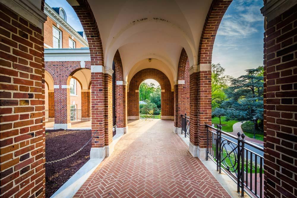 Johns Hopkins University. Foto: Depositphotos