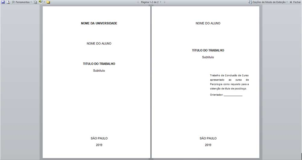 Normas Abnt Regras De Formatação Para Trabalhos Acadêmicos Tcc