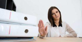 Veja como dizer não no trabalho / Foto: Depositphotos